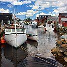 Fisherman's Cove, Eastern Passage by Amanda White