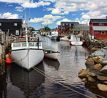 Fisherman's Cove, Eastern Passage by Amanda White