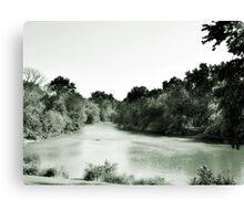 Des Plaines River, Riverside, IL Canvas Print