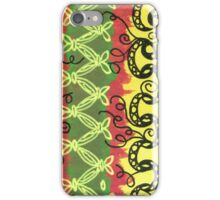 African Pattern Zentangle iPhone Case/Skin