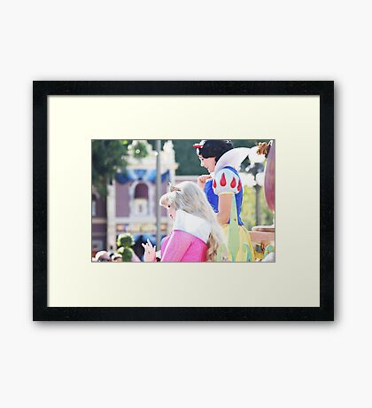 Parade Princesses Framed Print