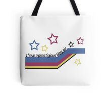 I Have a Prestigious Blog, Sir! Tote Bag
