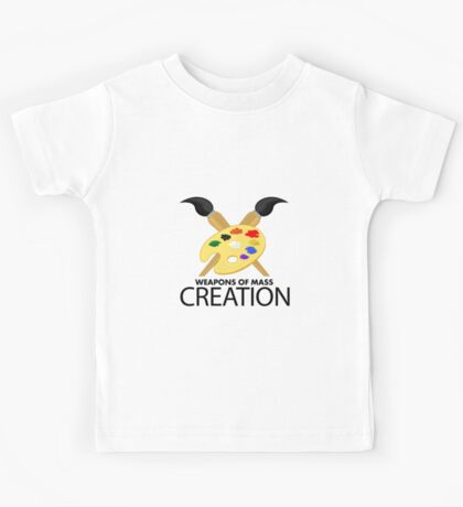 Weapons of mass creation - Army Kids Tee