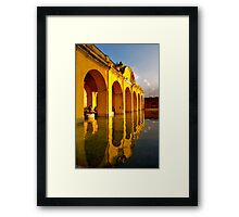 Afternoon Sun in Antigua Framed Print