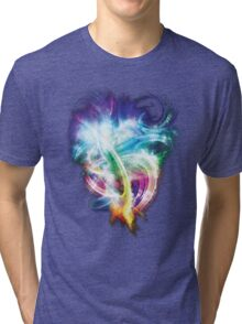 Colourful fire Tri-blend T-Shirt