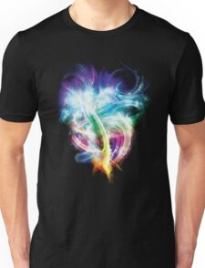 Colourful fire Unisex T-Shirt