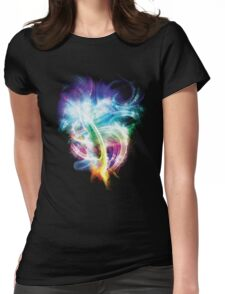 Colourful fire Womens Fitted T-Shirt