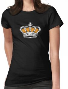 Crown - Yellow 2 Womens Fitted T-Shirt