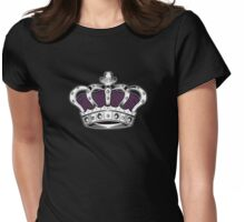 Crown - Purple 2 Womens Fitted T-Shirt