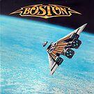 Boston Album Cover by jsalozzo