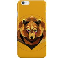 abstract bear iPhone Case/Skin