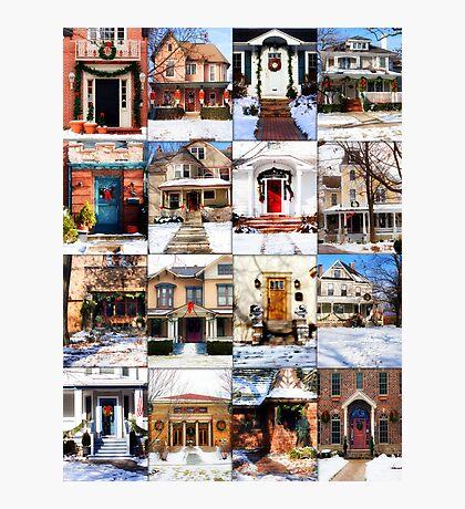 Doors of Riverside Illinois Photographic Print