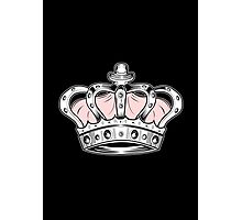 Crown - Pink 2 Photographic Print