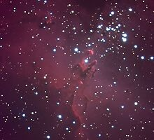 M16 - Eagle Nebula (Pillars of Creation) by Jeff Johnson