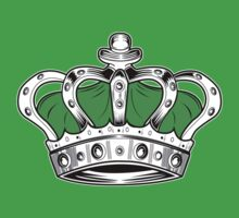 Crown - Green 2 Kids Clothes