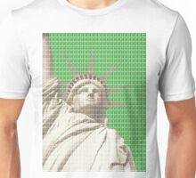 Liberty on Green Unisex T-Shirt