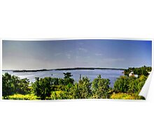 Lake of the Woods (Panorama) Poster