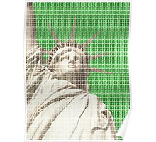 Liberty on Green Poster
