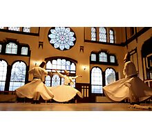 Whirling Dervished Photographic Print