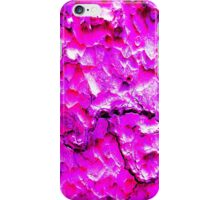 Ponderosa Bark Camo PINK iPhone Case/Skin