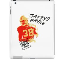 Jarryd Hayne wh iPad Case/Skin
