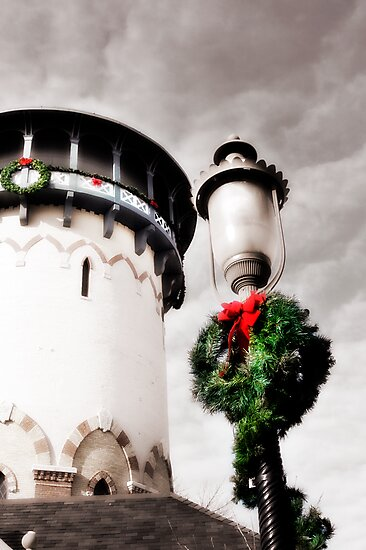 Holiday Water Tower, Riverside, Illinois by brian gregory
