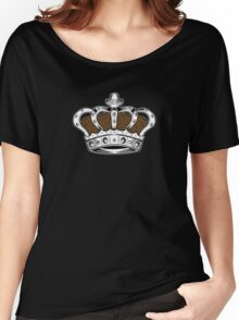 Crown - Brown 2 Women's Relaxed Fit T-Shirt