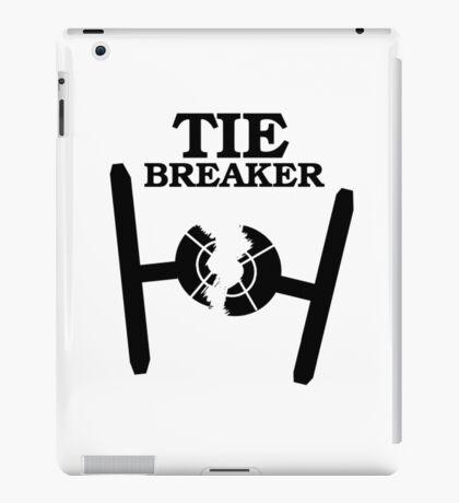 TIE BREAKER black iPad Case/Skin