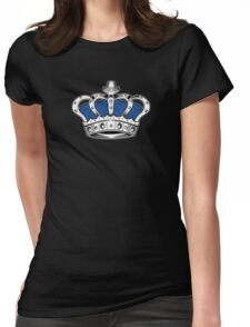 Crown - Blue 2 Womens Fitted T-Shirt
