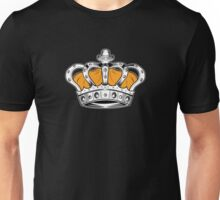 Crown - Yellow Unisex T-Shirt