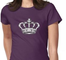 Crown - Purple Womens Fitted T-Shirt