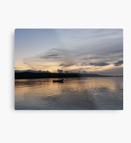 Evening Calm ,Burtonport Harbour, Donegal,Ireland Metal Print