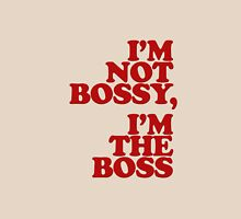 I'm Not Bossy, I'm the Boss Womens Fitted T-Shirt