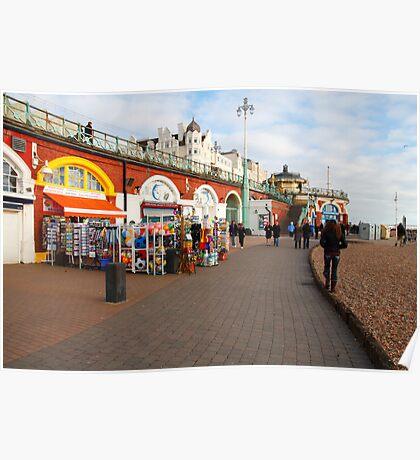 Picturesque Brighton Poster