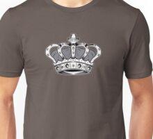 Crown - Grey Unisex T-Shirt