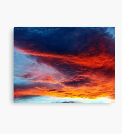 In Search of the Perfect Sunset Canvas Print