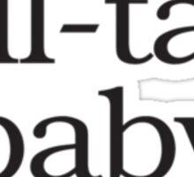 Former Tell-Tale Baby Bump Sticker
