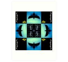 4 Ravens - Crossroads Art Print