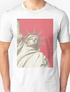 Liberty on Red T-Shirt