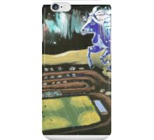 BLUE PONY CORRAL, HAVRE, MONTANA iPhone Case/Skin