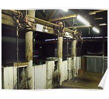 Wheels of Shearing Poster