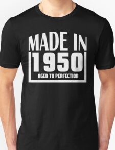 Made In 1950 Aged To Perfection T-Shirt