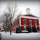 Ironton Courthouse in the Snow by Susan S. Kline
