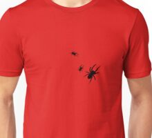 Black Spiders Unisex T-Shirt