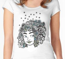 Illana's Hair Women's Fitted Scoop T-Shirt
