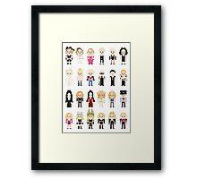 Madge's Evolution Framed Print