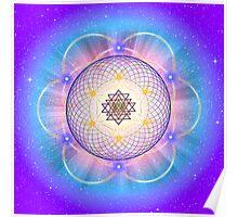 Sacred Geometry 21 Poster