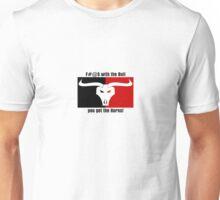 Bull skull design Unisex T-Shirt