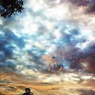 Sunrise over Riverton - series #7 by Wilhelmina