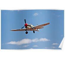 Kittyhawk P-40N Poster